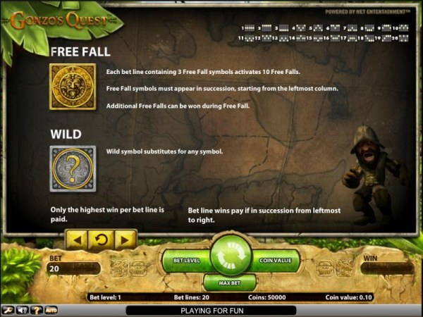 Casino Codes image of Gonzo's Quest