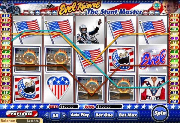 Casino Codes image of Evil Knievel