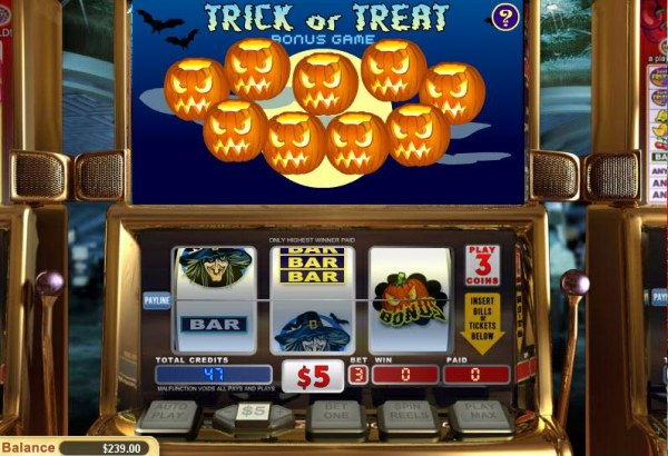 Trick or Treat by Casino Codes