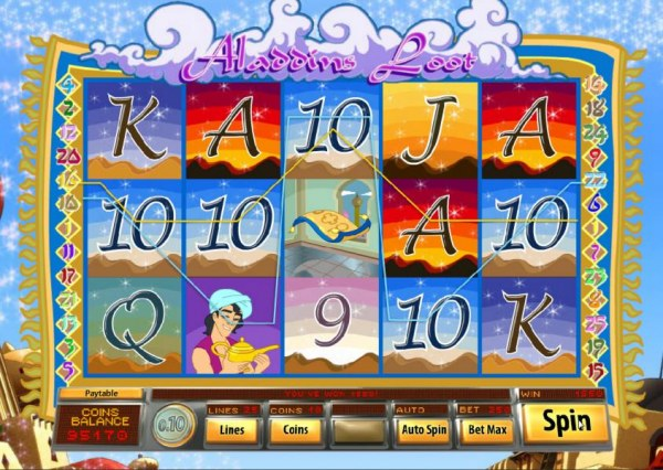 Casino Codes image of Aladdin's Loot