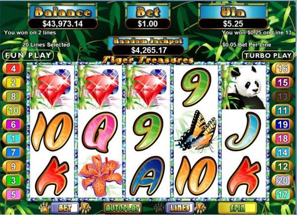 Casino Codes image of Tiger Treasures