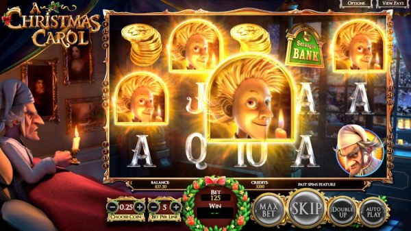 Casino Codes - Three or more Christmas Past symbols on screen triggers the Past Spins feature.