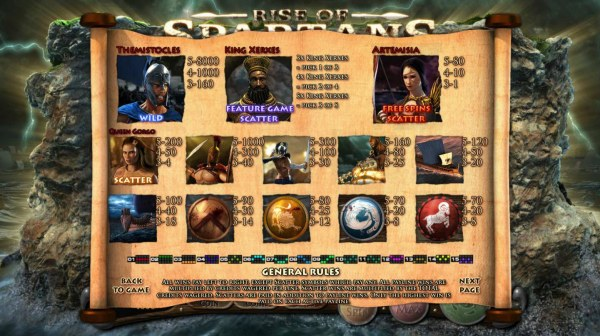 Casino Codes image of Rise of Spartans
