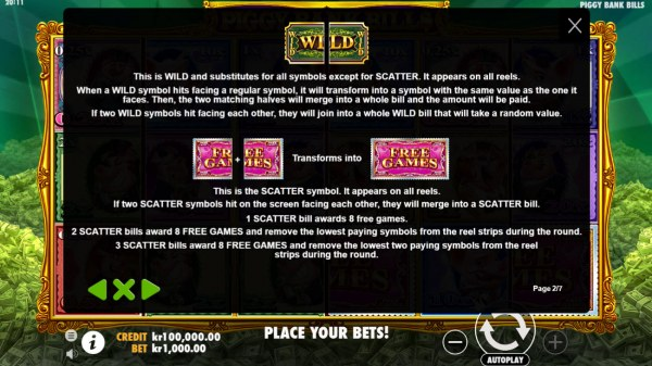 Wild and Scatter Rules by Casino Codes