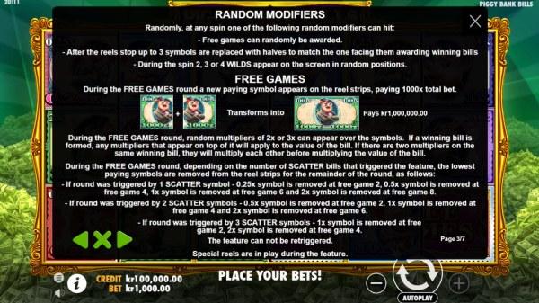 Piggy Bank Bills by Casino Codes