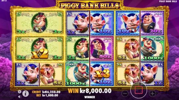 Casino Codes image of Piggy Bank Bills