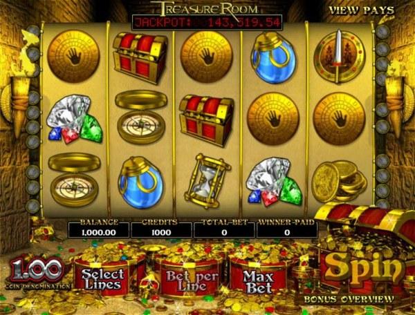 Treasure Room by Casino Codes