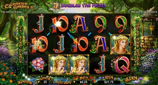 Enchanted Garden II by Casino Codes