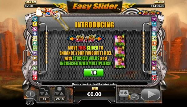 Casino Codes image of Easy Slider