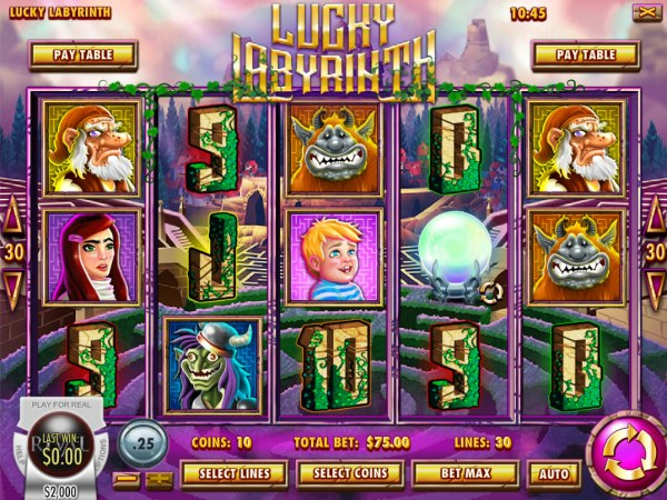 Casino Codes image of Lucky Labyrinth
