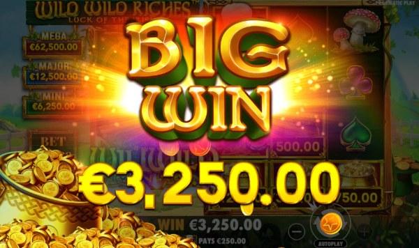 Wild Wild Riches Luck of the Irish by Casino Codes