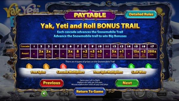 Yak Yeti and Roll screenshot