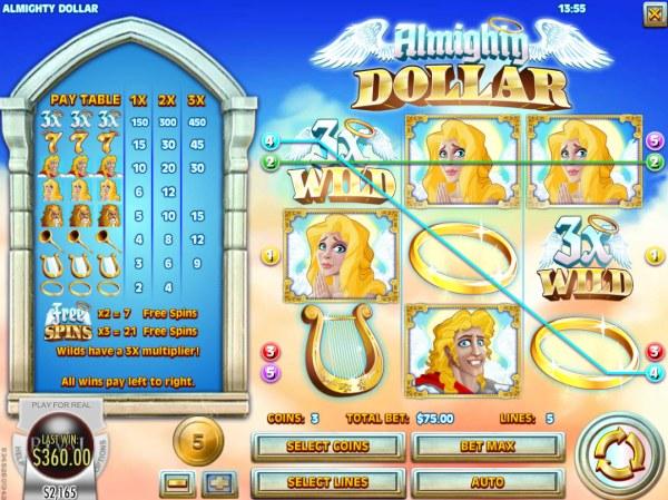 Almighty Dollar screenshot