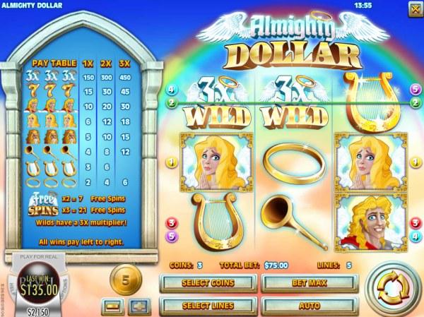 Casino Codes - A winning three of a kind