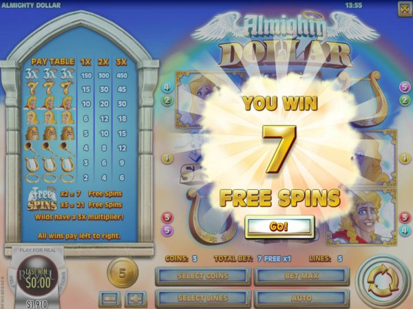 7 Free Games Awarded - Casino Codes