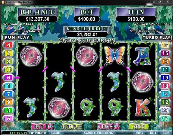 Casino Codes image of Enchanted Garden