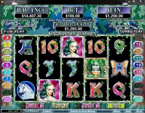 Enchanted Garden by Casino Codes