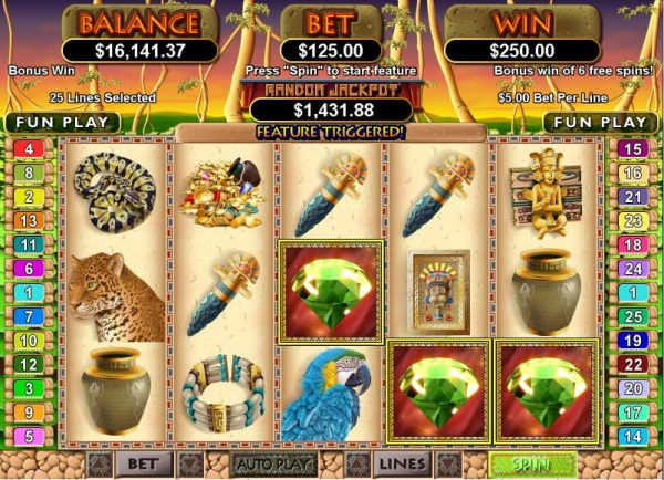 Mayan Queen screenshot