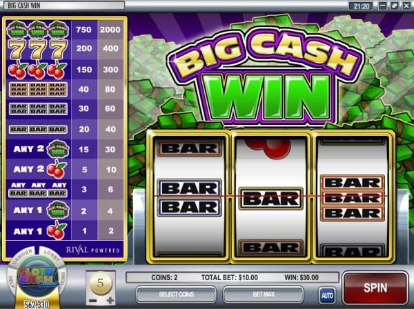 Big Cash Win screenshot