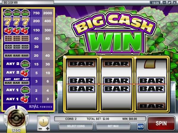 Big Cash Win by Casino Codes