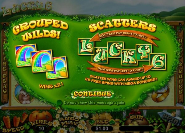 Lucky 6 by Casino Codes