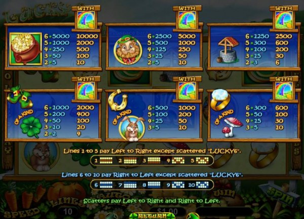 Casino Codes image of Lucky 6