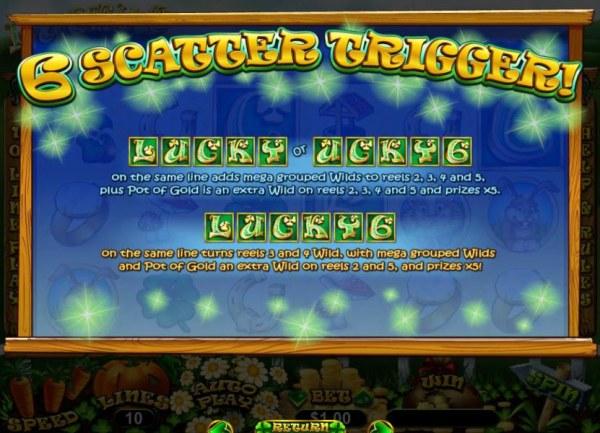 Lucky 6 screenshot