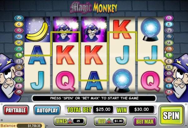 Magic Monkey screenshot