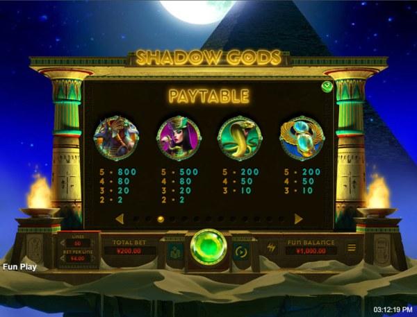 Shadow Gods screenshot