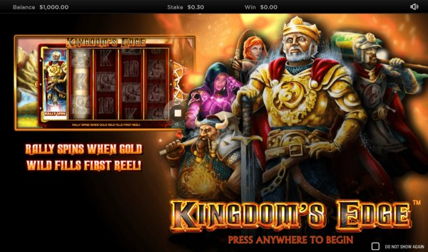 Kingdoms Edge 95 by Casino Codes