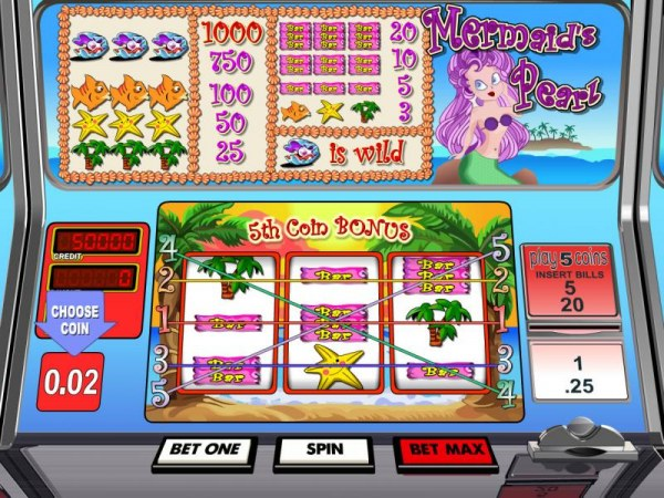 Casino Codes image of Mermaid's Pearl