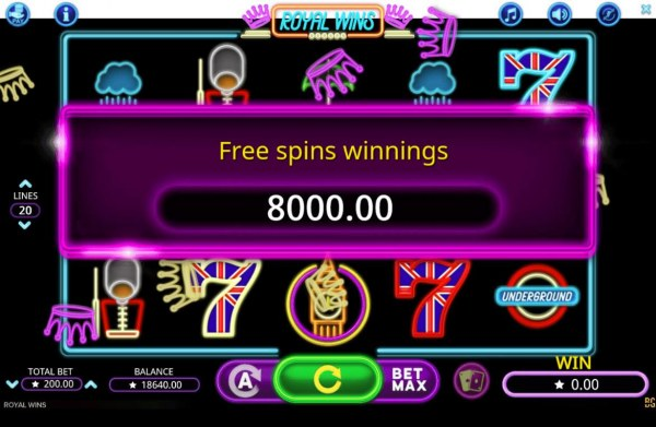 Royal Wins screenshot