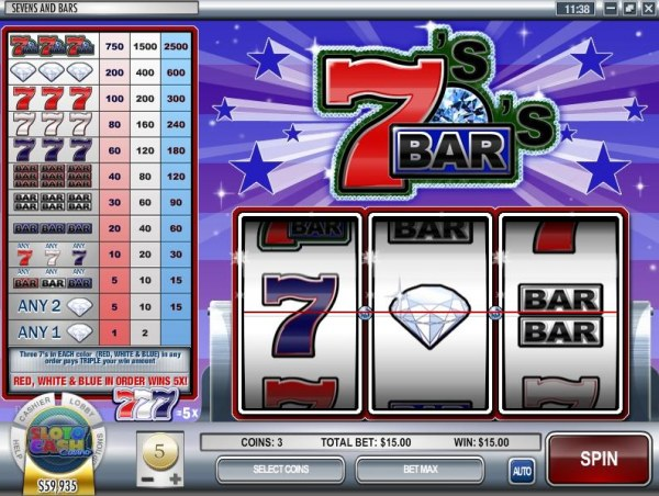 Images of Sevens and Bars