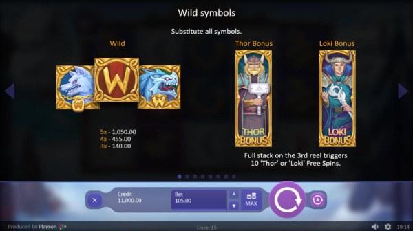 Viking Gods Thor and Loki screenshot
