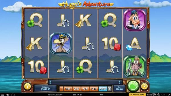 Hugo's Adventure screenshot