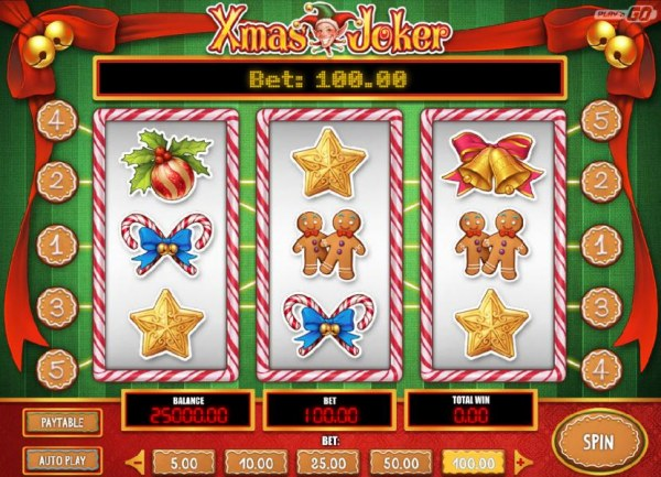 Casino Codes image of Xmas Joker