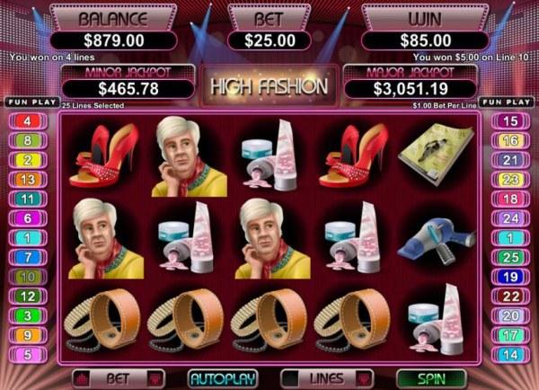 Casino Codes image of High Fashion