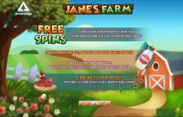 Jane's Farm by Casino Codes