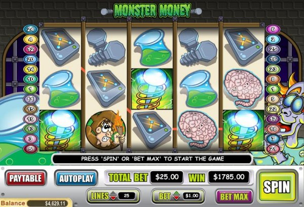 Monster Money by Casino Codes