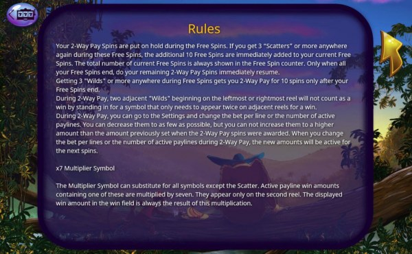 X7 Multiplier Rules - Casino Codes