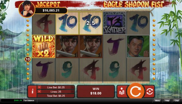 Eagle Shadow Fist by Casino Codes