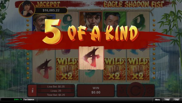 Casino Codes image of Eagle Shadow Fist