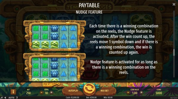 Temple of Nudges by Casino Codes