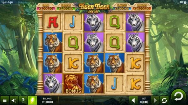 Tiger Tiger Wild Life by Casino Codes