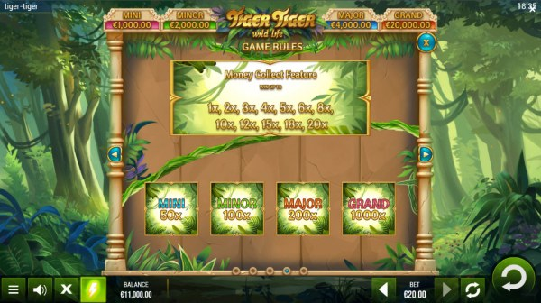 Casino Codes - Money Collect Feature