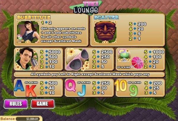 Tiki Lounge by Casino Codes