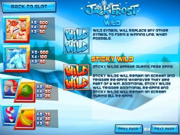 Jack Frost screenshot