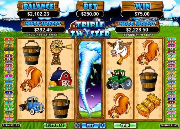 Casino Codes image of Triple Twister