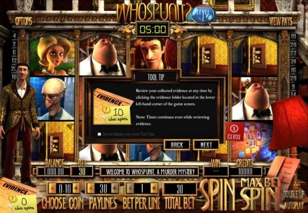 Who Spun It? by Casino Codes