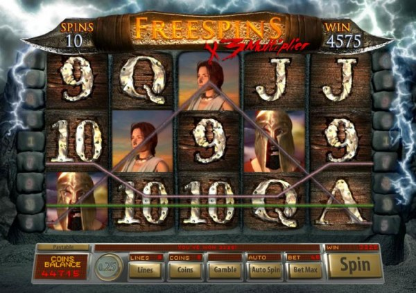 Age Of Spartans by Casino Codes